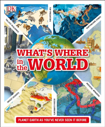 What's Where in the World By DK