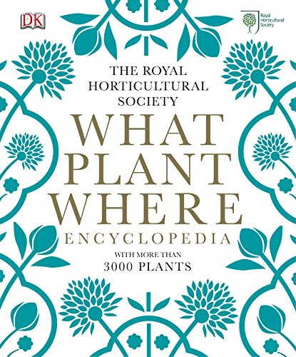 RHS What Plant Where Encyclopedia By Royal Horticultural Society