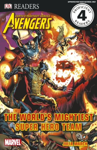 Marvel Avengers The World's Mightiest Super Hero Team (DK Readers Level 4) By DK
