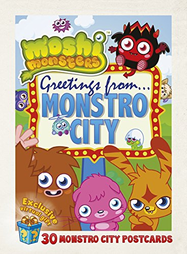 Moshi Monsters Postcard Book by