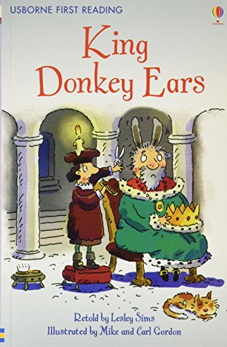 King Donkey Ears (First Reading Level 2) By NILL