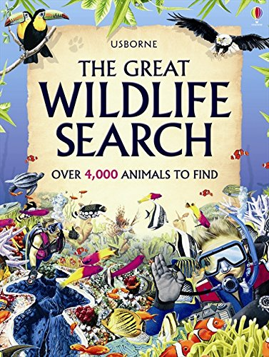 The Great Wildlife Search by Caroline Young