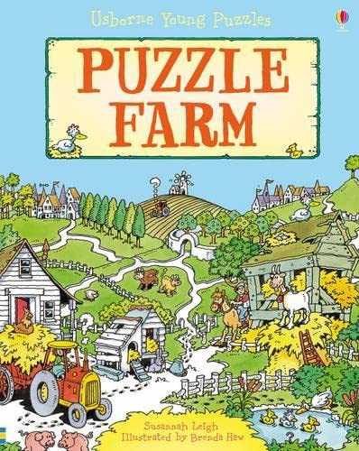 Young Puzzles Puzzle Farm By Susannah Leigh