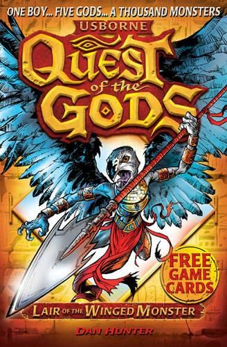Lair of the Winged Monster (Quest of the Gods 4) By Dan Hunter