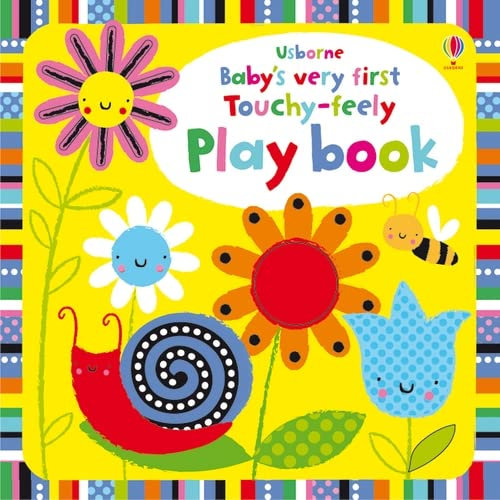 Baby's Very First Touchy-feely Playbook by Fiona Watt