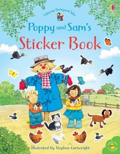Poppy and Sam's Sticker Book By Heather Amery
