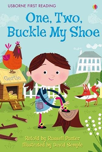 One Two Buckle My Shoe (First Reading Level 2) By NILL