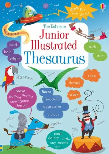 Junior Illustrated Thesaurus by James Maclaine 1409534960 The Cheap Fast Free