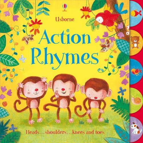 Action Rhymes By Felicity Brooks