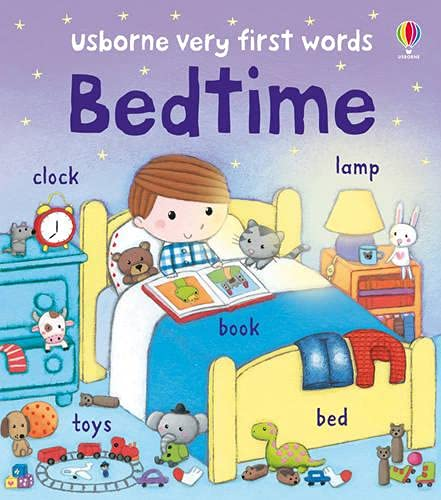 Usborne Very First Words Bedtime By Felicity Brooks