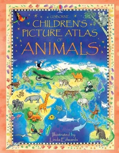 Children's Picture Atlas of Animals, Hazel Maskell Book The Cheap Fast Free Post