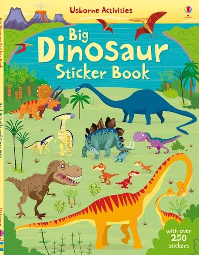Dinosaurs Sticker Book By Fiona Watt