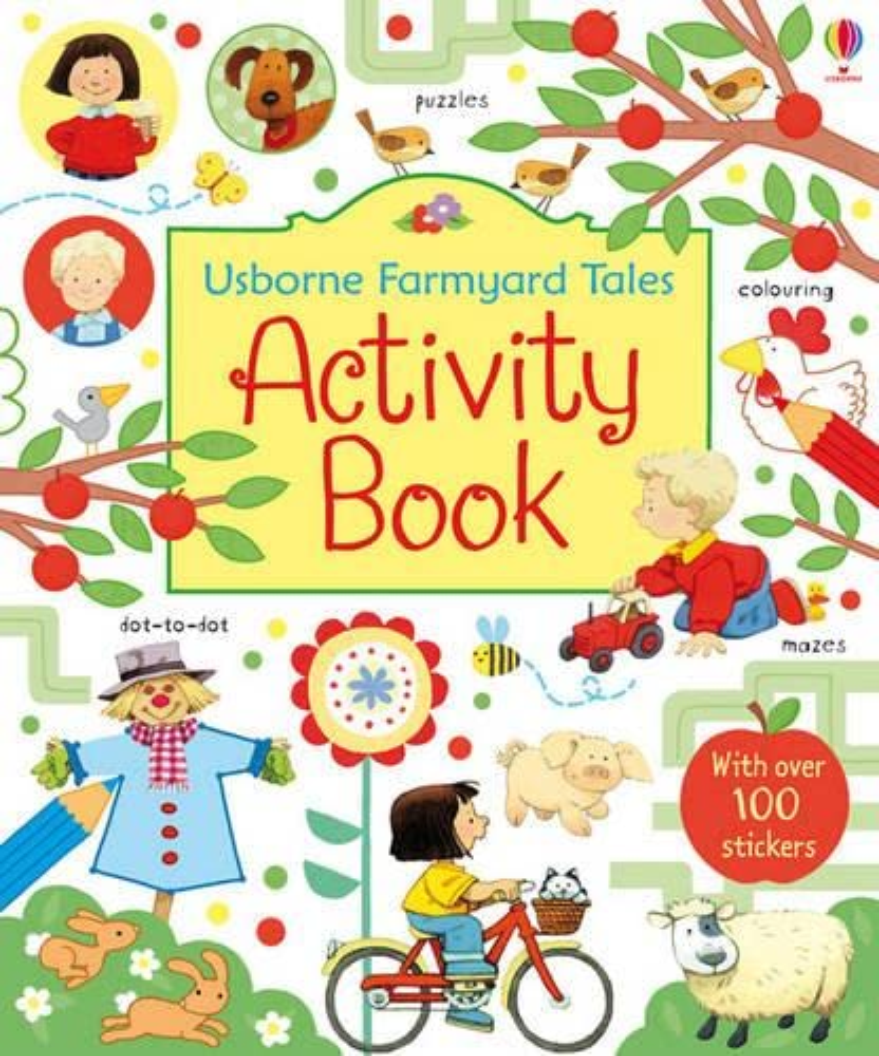 Usborne Farmyard Tales Activity Book By Rebecca Gilpin