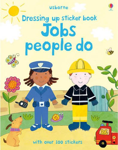 Dressing Up Sticker Book By Felicity Brooks