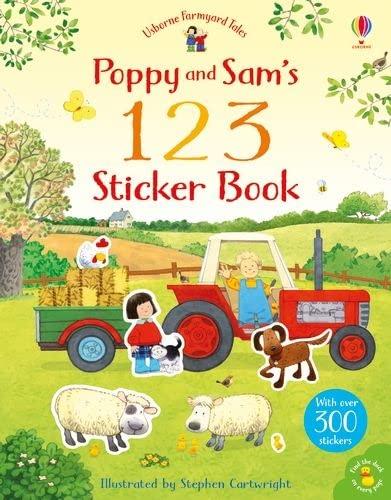 Poppy and Sam's 123 Sticker Book By Rachel Wilkie