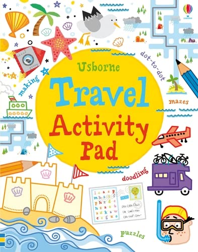 Travel Activity Pad (Tear-off Pads) By Simon Tudhope