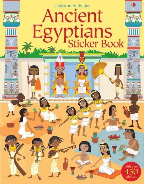 Ancient Egyptians Sticker Book von Fiona Watt