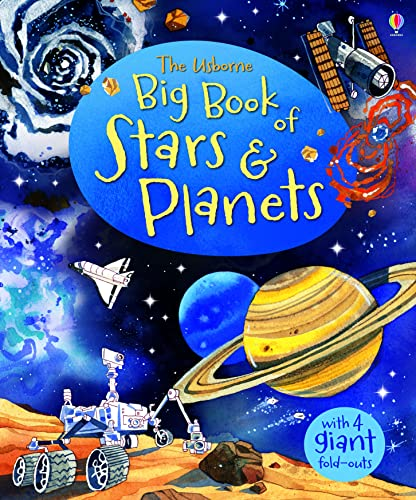 Big Book of Stars & Planets (Usborne Big Books) (Big Books of B... by Emily Bone