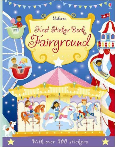 First Sticker Book Fairground By Jessica Greenwell