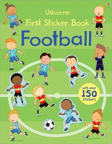 First Sticker Book Football von Sam Taplin
