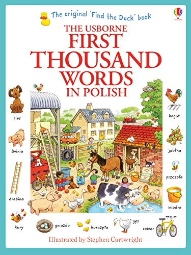 First Thousand Words in Polish von Heather Amery