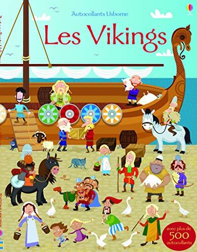 Les Vikings - Autocollants Usborne By Fiona Watt