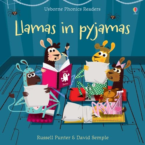 Phonics Readers: Llamas in Pyjamas By Russell Punter