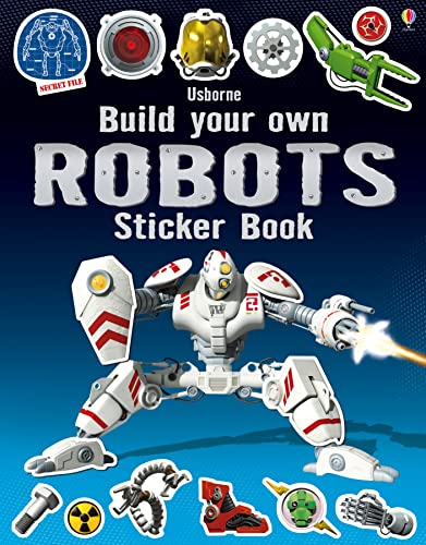 Build Your Own Robots Sticker Book By Simon Tudhope