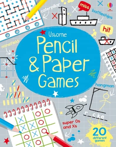 Pencil & Paper Games (Tear-Off Pads) By Various