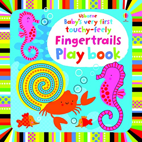 Baby's Very First Finger Trail Playbook By Fiona Watt
