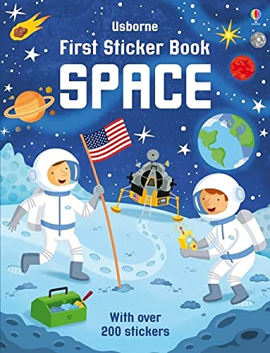 First Sticker Book Space By Sam Smith