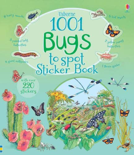 1001 Bugs to Spot Sticker Book By Teri Gower