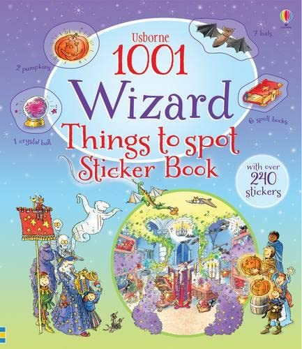1001 Wizard Things to Spot Sticker Book By Teri Gower