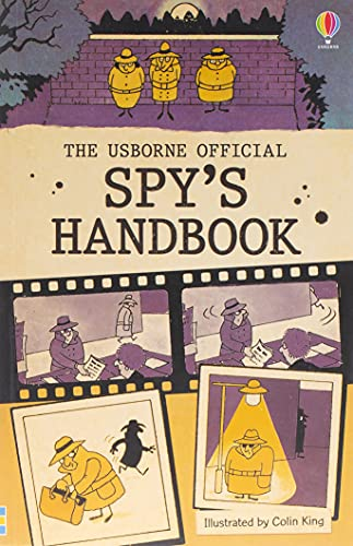 The Official Spy's Handbook (Usborne Handbooks) By Colin King