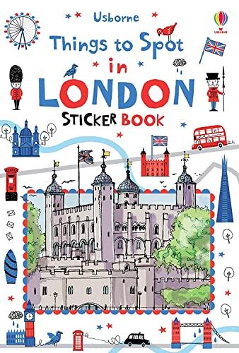 Things to spot in London Sticker Book By Rob Lloyd Jones