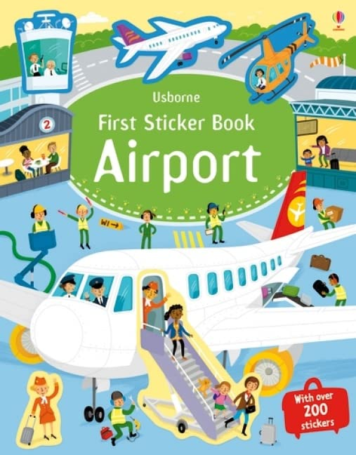 First Sticker Book Airports By Sam Smith