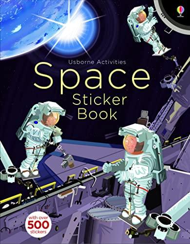 Space Sticker Book By Fiona Watt