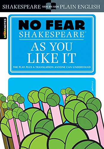 """""""As You Like It"""" (No Fear) (No Fear Shakespeare) By SparkNotes"""