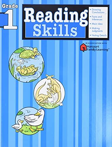 Reading Skills: Grade 1 (Flash Kids Harcourt Family Learning) von Flash Kids Editors