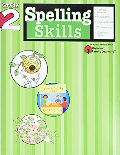 Spelling Skills: Grade 2 (Flash Kids Harcourt Family Learning) von Flash Kids Editors