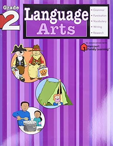 Language Arts: Grade 2 (Flash Kids Harcourt Family Learning) von Flash Kids Editors