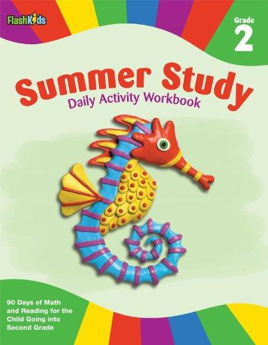 Summer Study Daily Activity Workbook: Grade 2 (Flash Kids Summer Study) By Edited by Flash Kids Editors