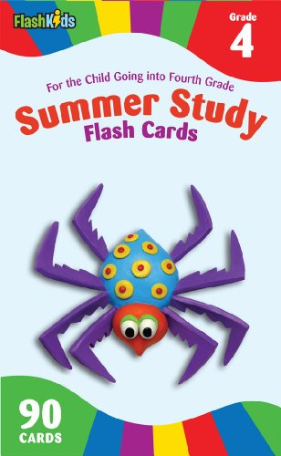 Summer Study Flash Cards Grade 4 (Flash Kids Summer Study von Flash Kids Editors