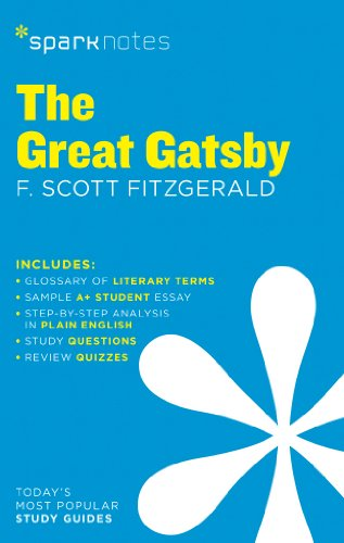 The Great Gatsby SparkNotes Literature Guide By Edited by SparkNotes