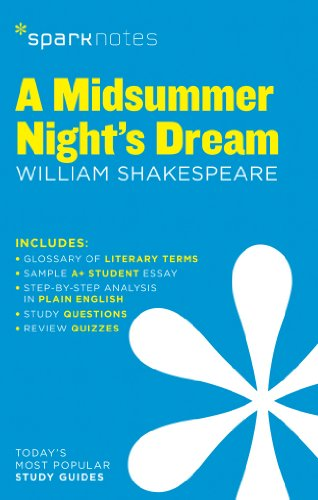 A Midsummer Night's Dream SparkNotes Literature Guide par SparkNotes