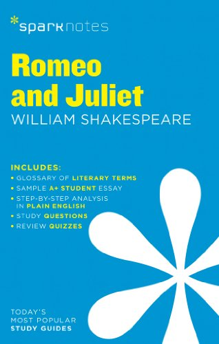 Romeo and Juliet SparkNotes Literature Guide By Edited by SparkNotes