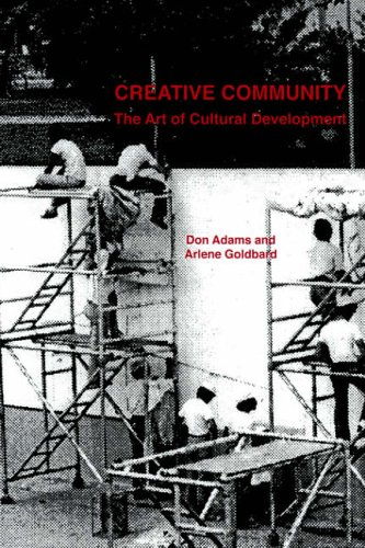 Creative Community By Donald Adams