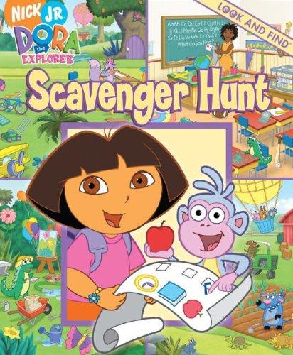 Dora the Explorer Look & Find - Scavenger Hunt By Pi Kids