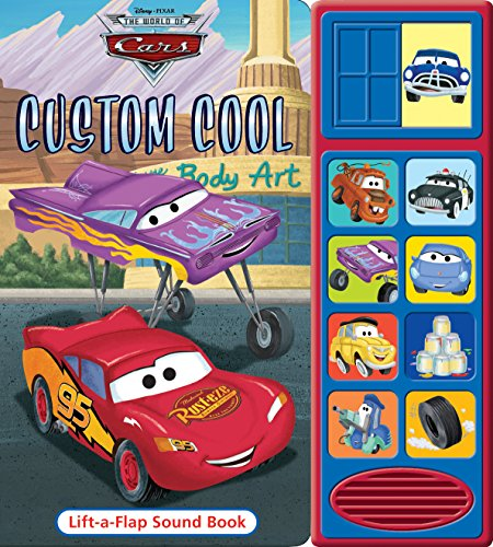Disney Cars Custom Cool, Little Lift & Listen By Publications International