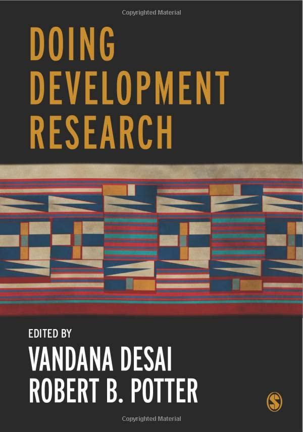 Doing Development Research By Edited by Vandana Desai